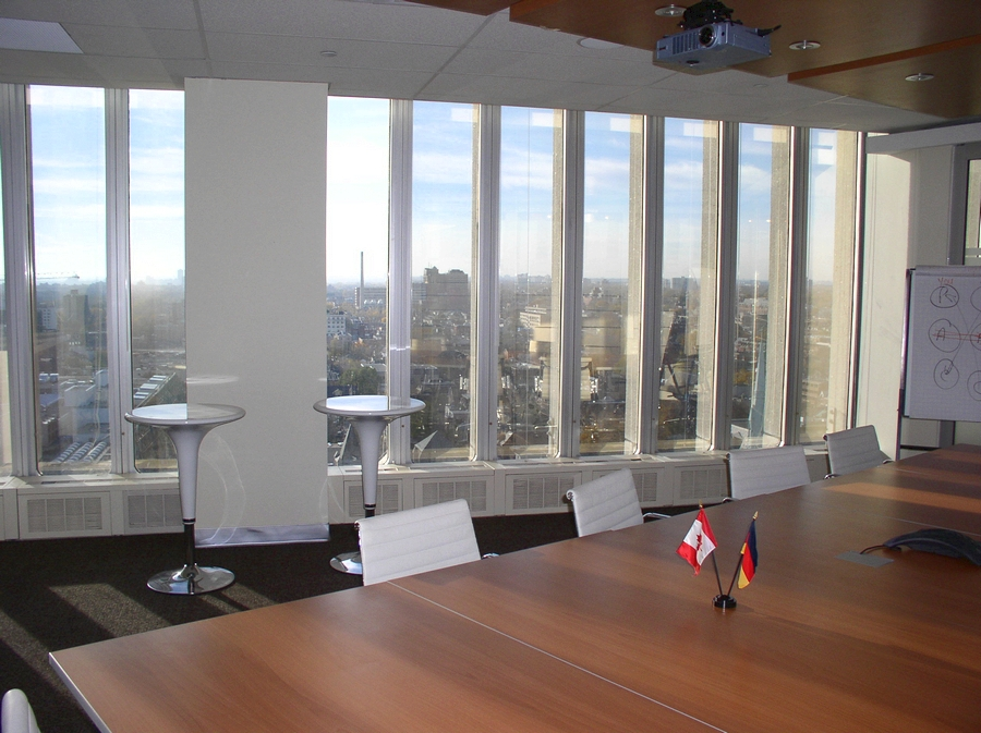 Interior shading for Canadian chambre of commerce